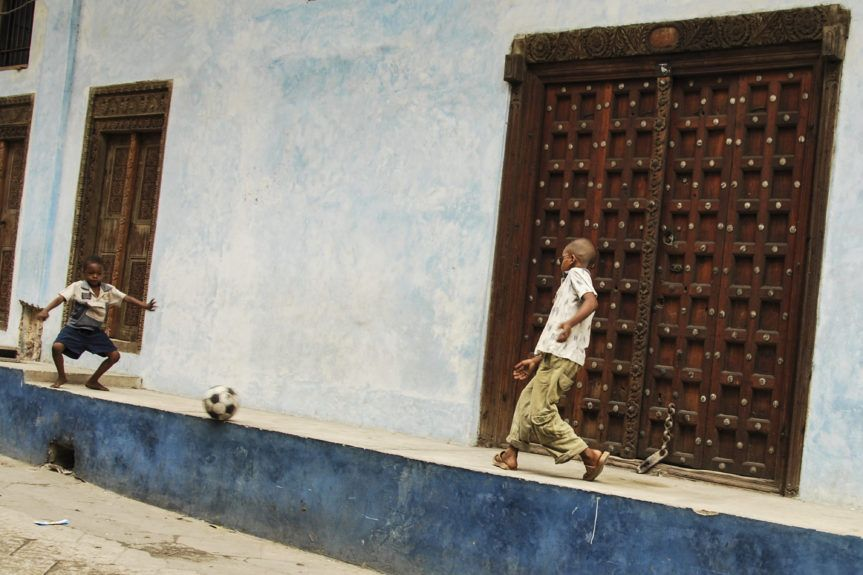 Zanzibar en danseuse