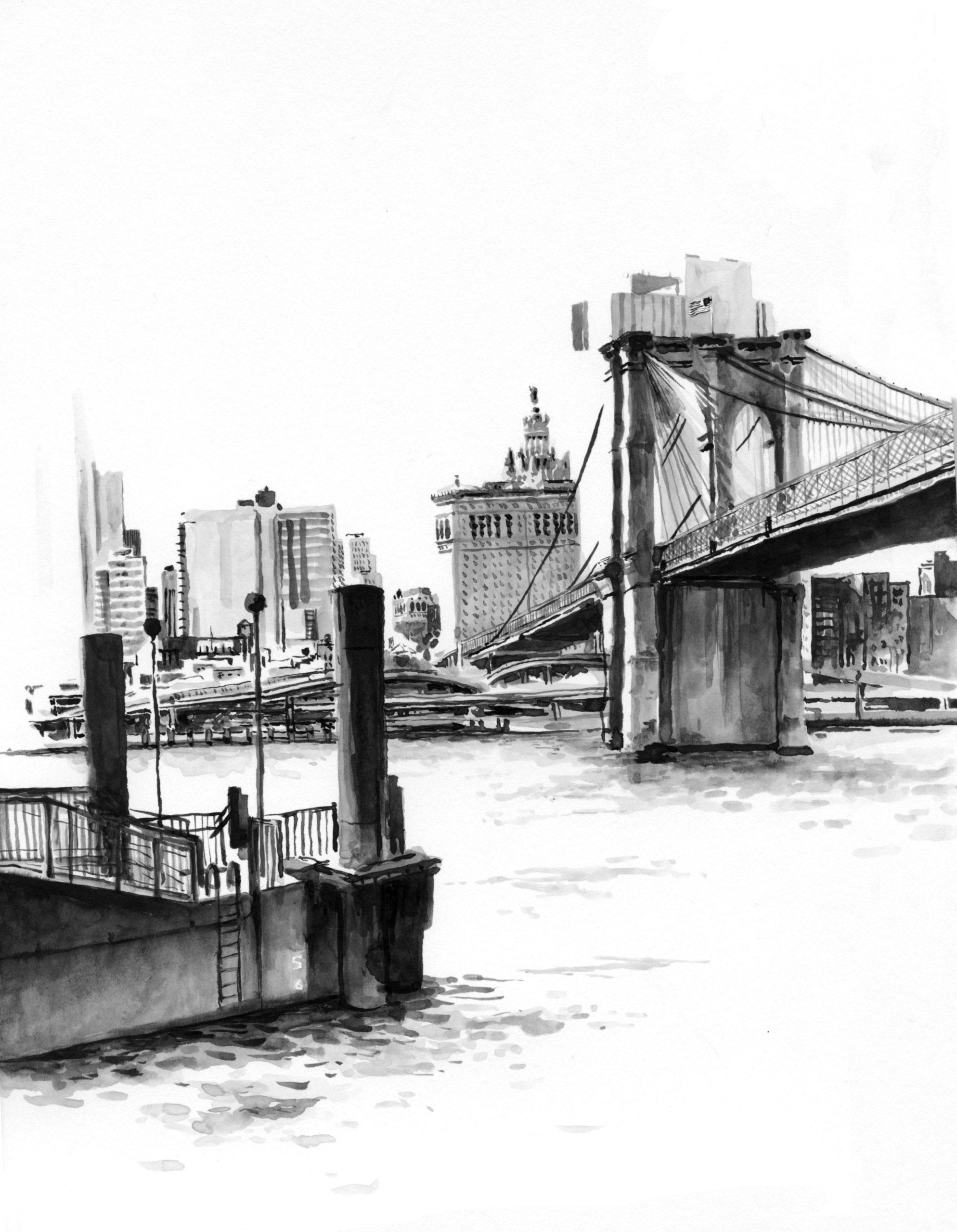 Carnettiste -Marielle Durand - NYC - Bouts du monde