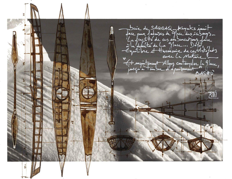Carnettiste - Nicolas Roux - revue Bouts du monde - Groenland