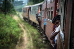 Sept voyage en train autour du monde