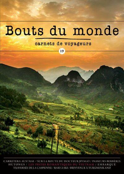 Bouts du monde : la revue du carnet de voyage n°19