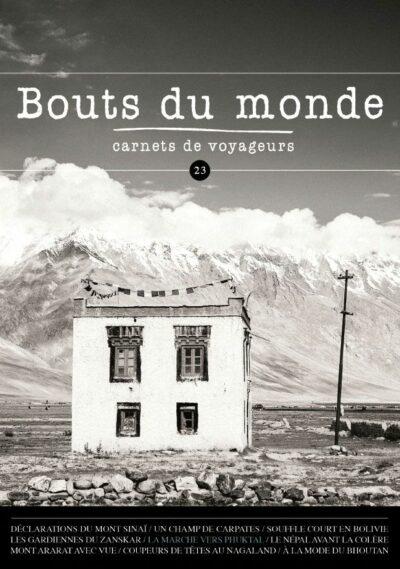 Bouts du monde : la revue du carnet de voyage n°23