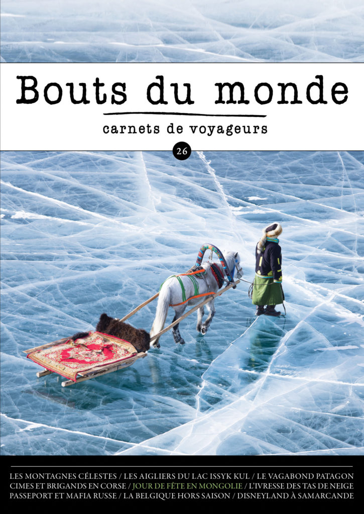 Bouts du monde : la revue du carnet de voyage n°26