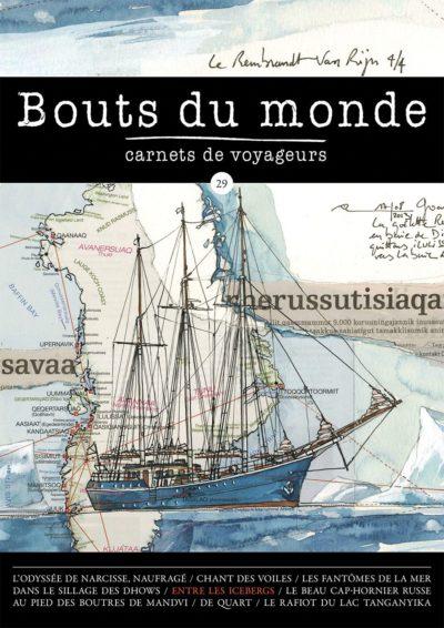 Bouts du monde : la revue du carnet de voyage n°29