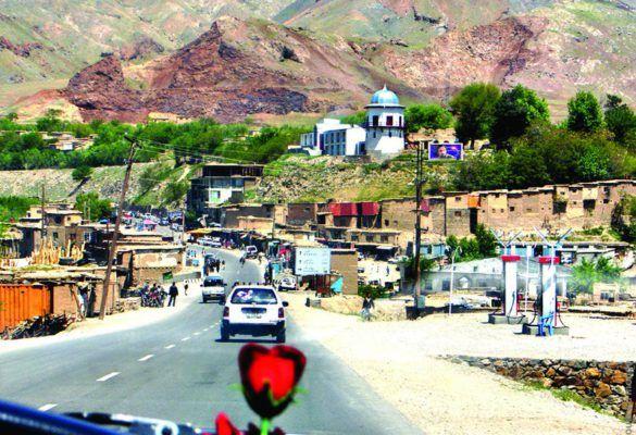 carnettiste : corinne waechter - Afghanistan - revue Bouts du monde