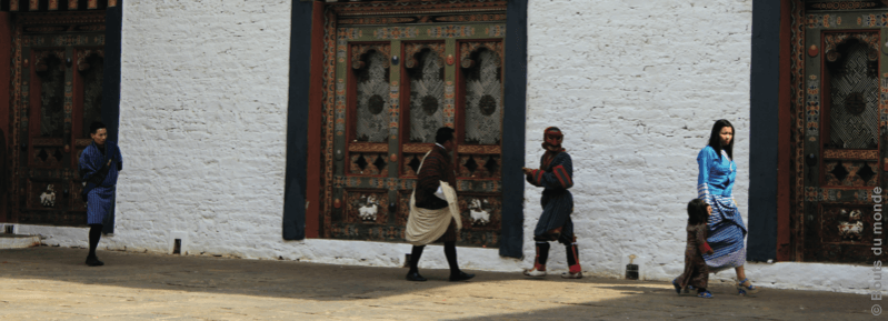 Défilé de mode au Bhoutan