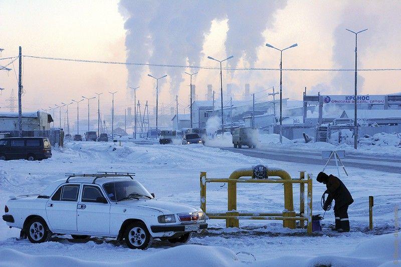 Iakoutsk, moins 50°C