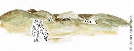carnettiste : marion dutoit - mongolie - revue bouts du monde