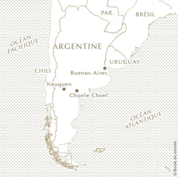 carte - Patagonie - Chili - bouts du monde