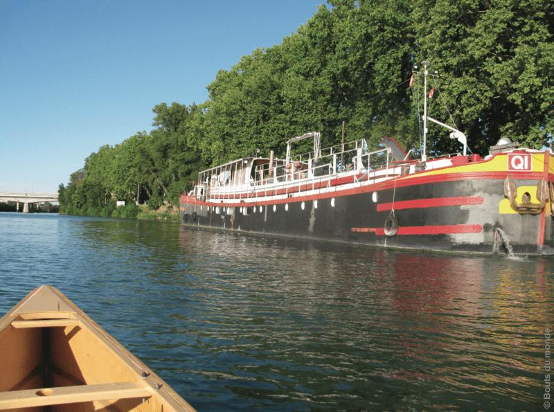 Carnettiste : Eric Naigeon - Rhône - France - fleuves - bouts du monde