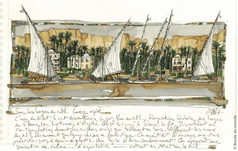 Le Nil aux trésors