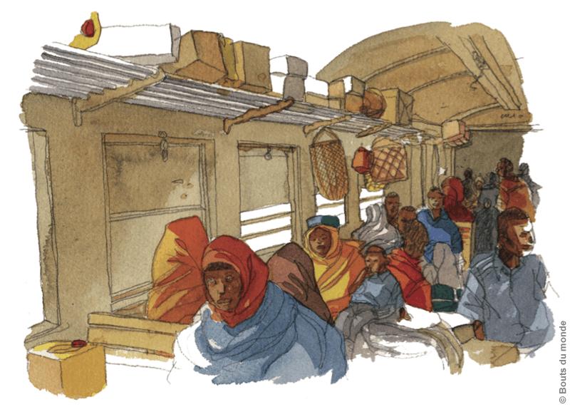 Des rails tordus en Ethiopie