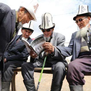 carnettiste : William Mauxion - Kirghizistan - revue Bouts du monde