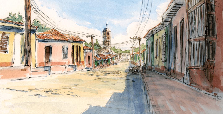 Carnet de voyage - Trinidad Cuba - Claire Pendola - Bouts du monde