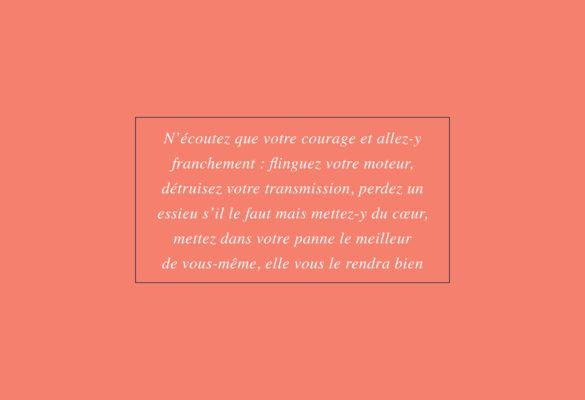 Carnet de voyage - apologie de la panne mécanique - Olivier Le Gall - Bouts du monde
