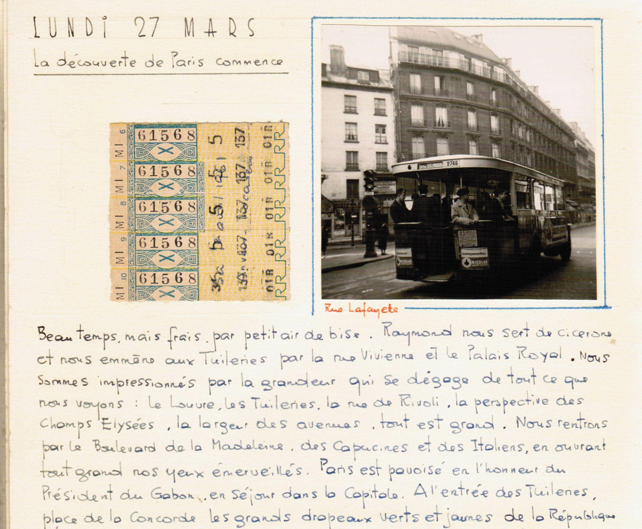 Carnet voyage - Floriane Vacherand - Paris - Bouts du monde