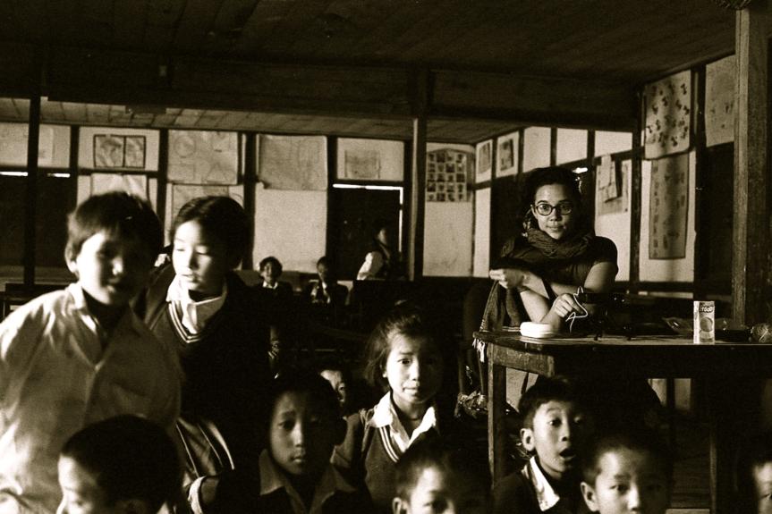 Cinéma itinérant dans le Sikkim
