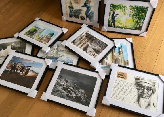 Les artistes de la revue Bouts du monde exposés à Angers