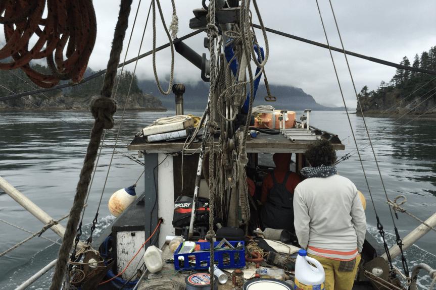 Partie de pêche en Alaska