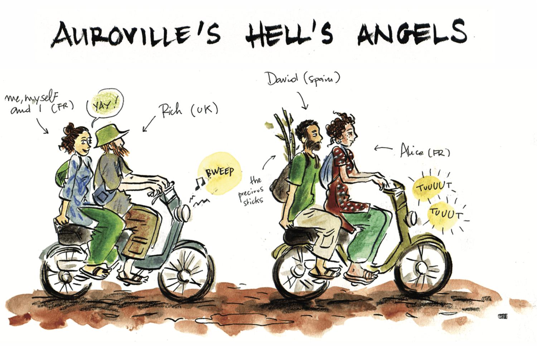 Carnet de voyage : 44 jours à Auroville avec Violette Gentilleau - Inde - Bouts du monde