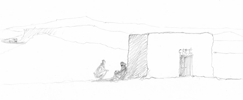 Carnet de voyage : Le bistrot du Sahara - Pierre Vauconsant - Bouts du monde