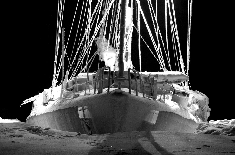 Carnet de voyage : expédition arctique à bord de Tara - Vincent Hilaire - Bouts du monde