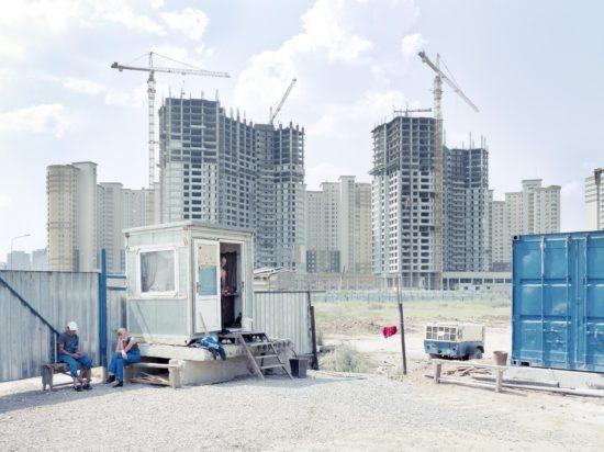 tirage d'art photo : chantier à Astana par fabrice Fouillet, Kazakhstan - Bouts du monde