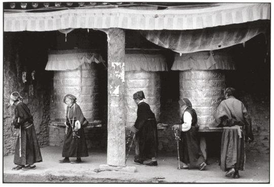 tirage d'art : prières tibétaines par Jean-Marc Sauloup, Chine, bouts du monde