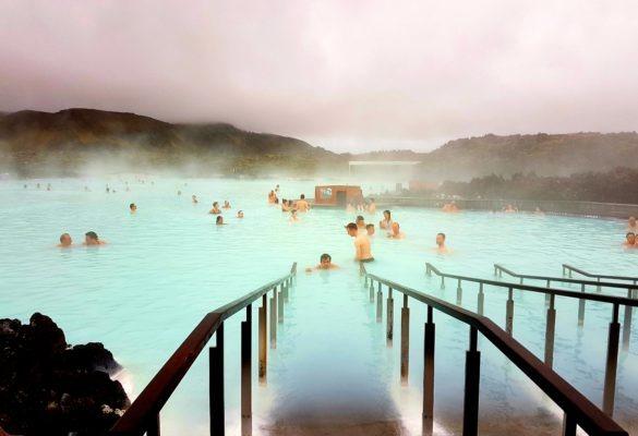 tirage d'art photo : le blue lagoon, Islande par Noémie Pannetier - Bouts du monde