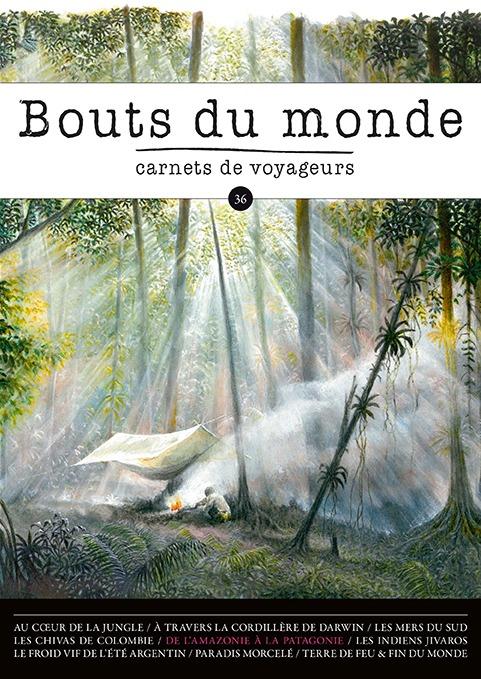 Couverture Bouts du monde 36 - Etienne Druon - Amazonie