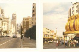 Carnet de voyage États-Unis / Les vieux polaroids du salon
