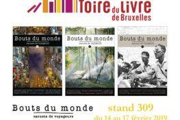La revue Bouts du monde à la Foire du livre de Bruxelles