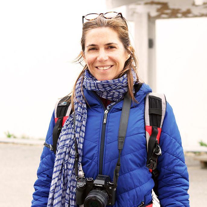 Charlotte Spire - auteur Bouts du monde - carnettiste