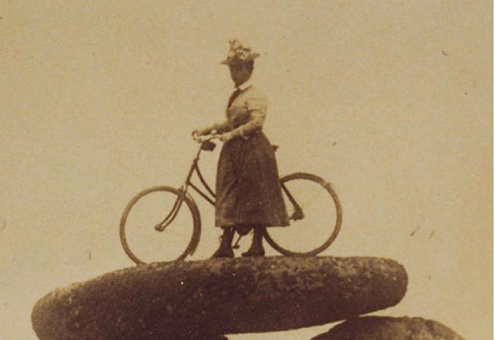 Dans la roue  de Jeanne sur les chemins de Bretagne