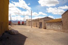 Une halte dans l'Atacama