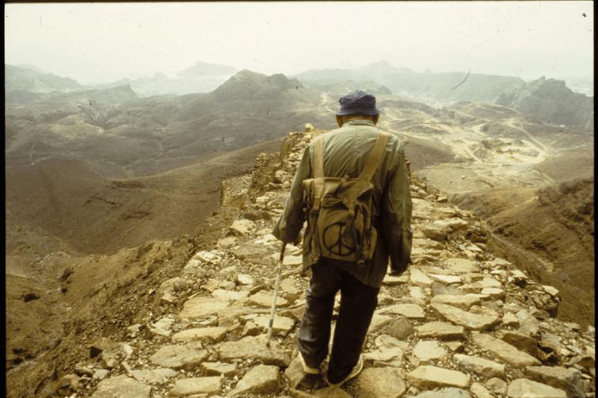 Le dernier voyage de Théodore Monod