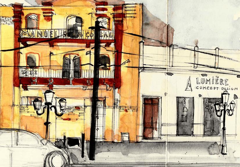 Le froid vif d'un été argentin