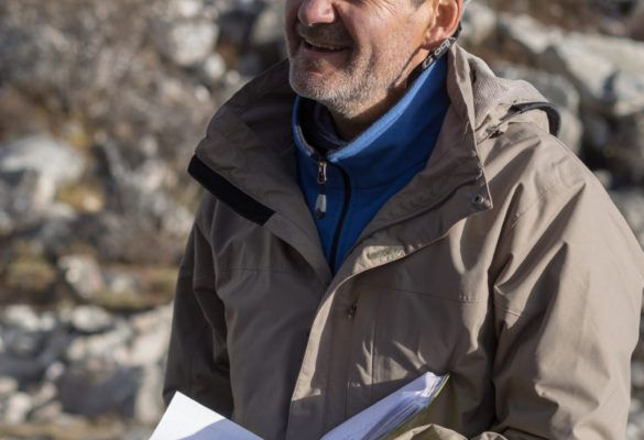 Portrait de François Delclaux, hydrologue
