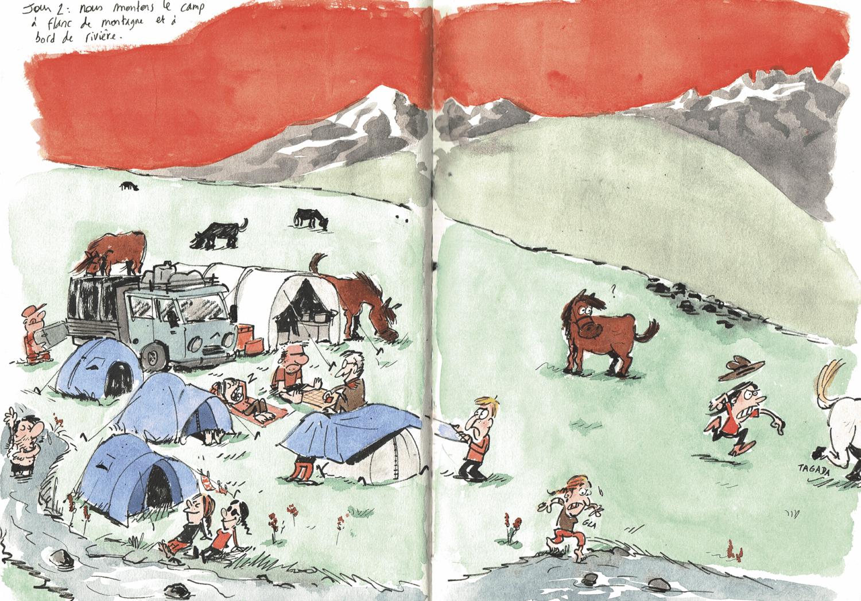 Surprise Kirghize