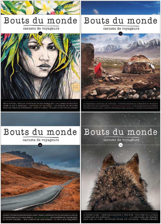carnets de voyage Revue Bouts du mond
