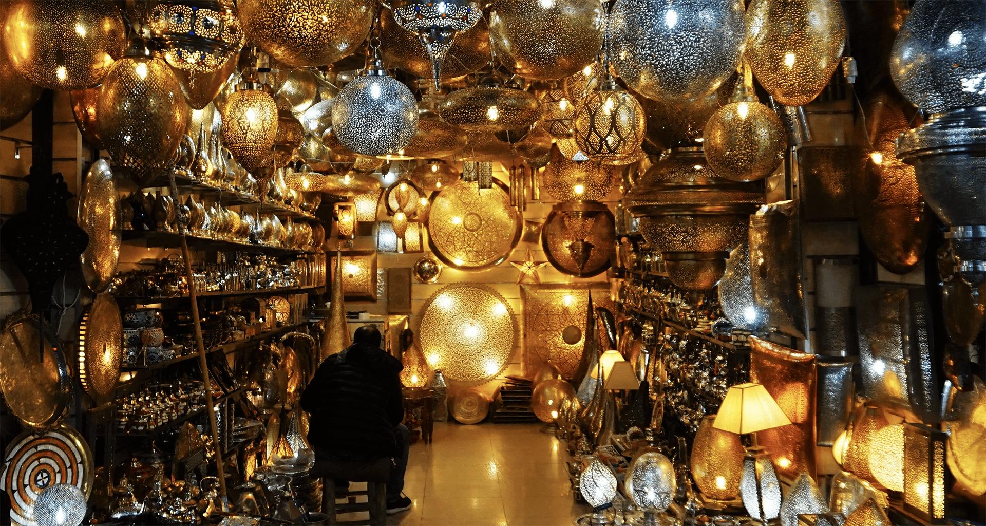 Vincent Piel - Souk de Marrakech - Bouts du monde