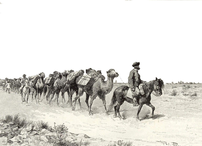 Caravane de Bonvalot - Louis-Marie Blanchard