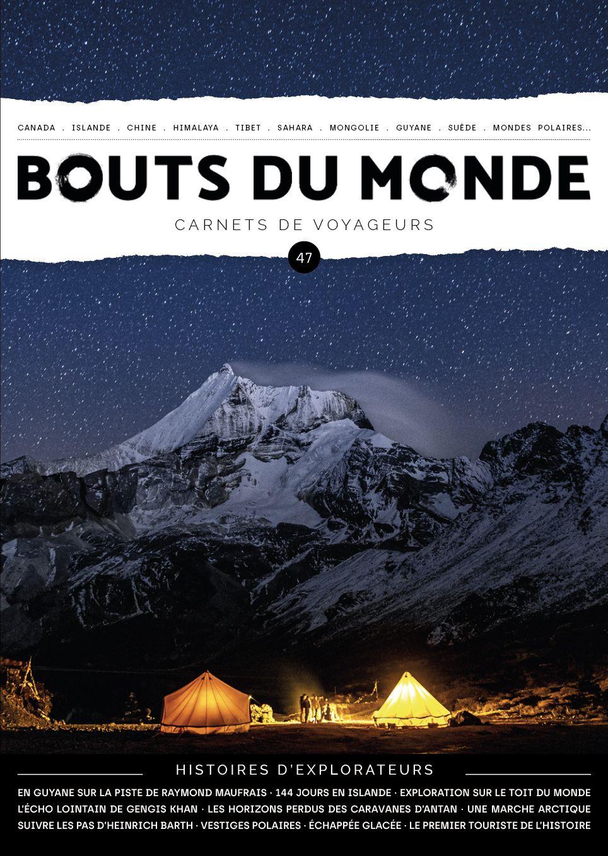 Couverture Bouts du monde 47 - Thomas Goisque